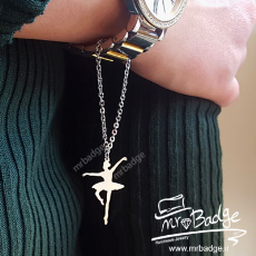 آویزساعت رقص باله - Ballet dance Watch Pendant